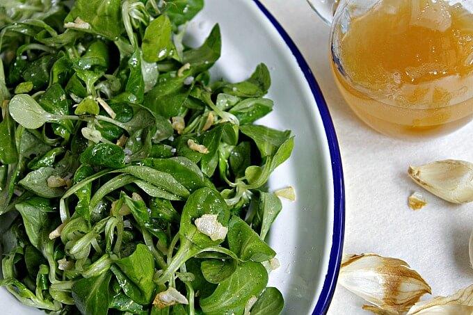 Garlic Sesame Salad Dressing ~ Lydia's Flexitarian Kitchen