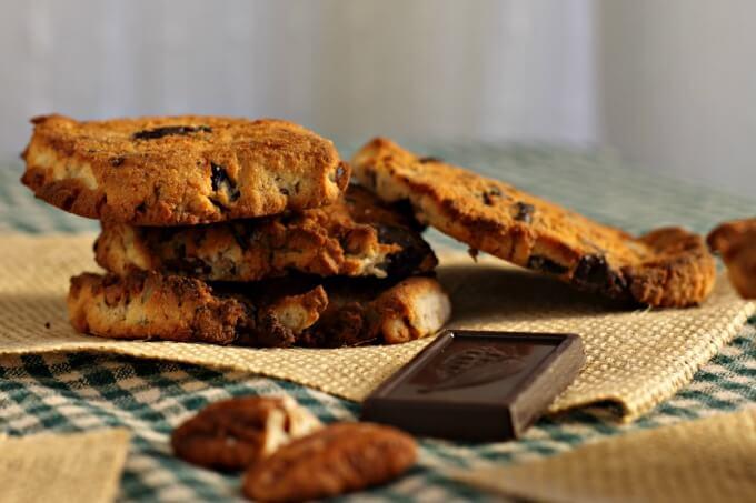 Gluten Free Chesapeake Cookies ~ Lydia's Flexitarian Kitchen