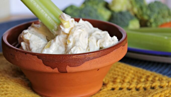 Ina's Stovetop Onion Dip