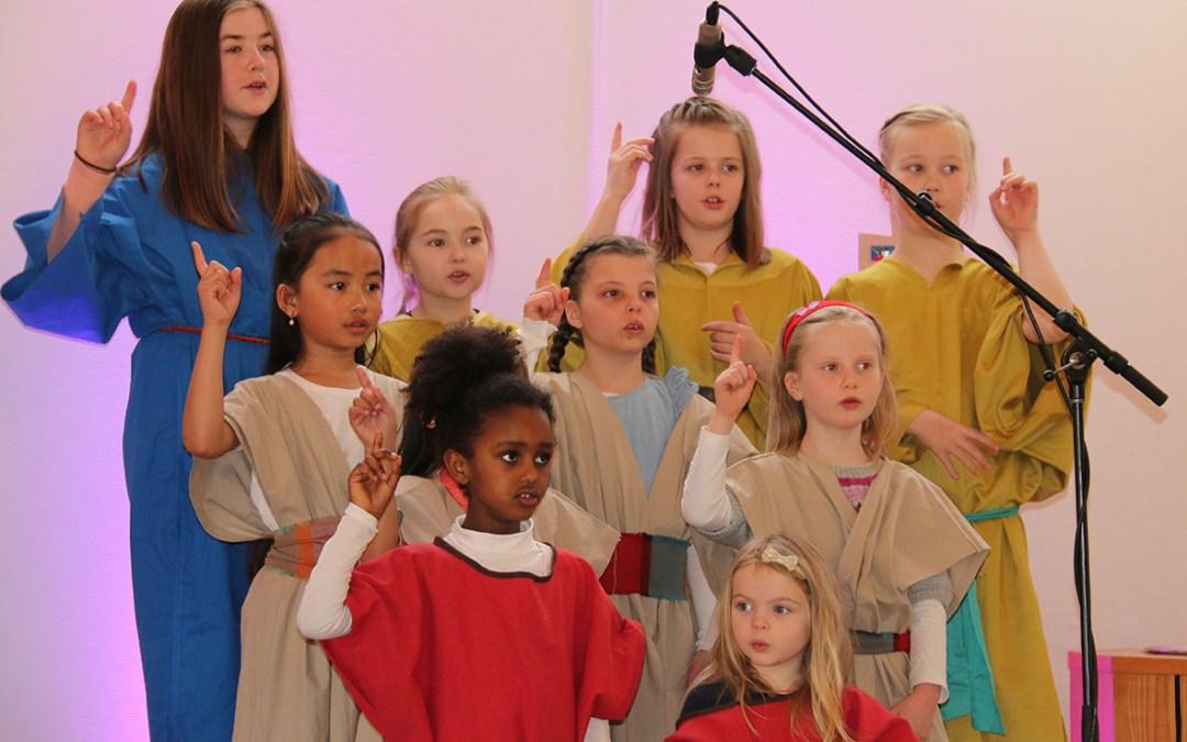 Lye barnegospel med påskens drama