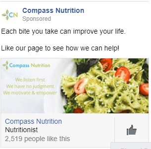 nutritional marketing