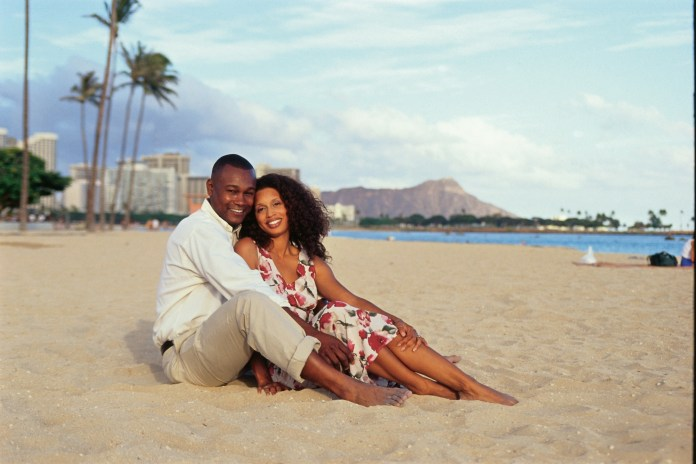 Image result for beach couple black