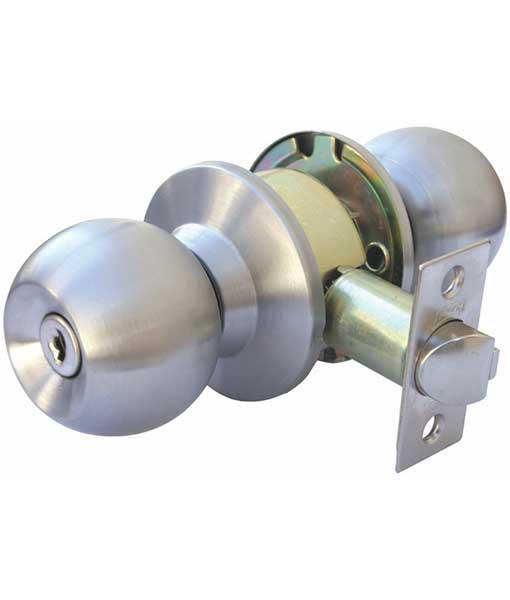 Cerradura de pomo econ mica phillips modelo alfa rec mara o entrada 80068 - Cerraduras pomo para puertas ...