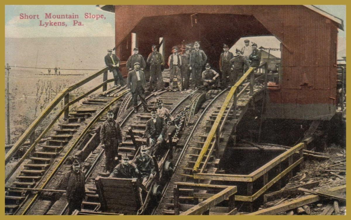 Short Mountain Colliery Timeline 1910 1919 Lykens