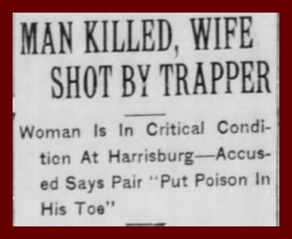 The Poison Toe Murder, 1937 (1) – Lykens Valley: History