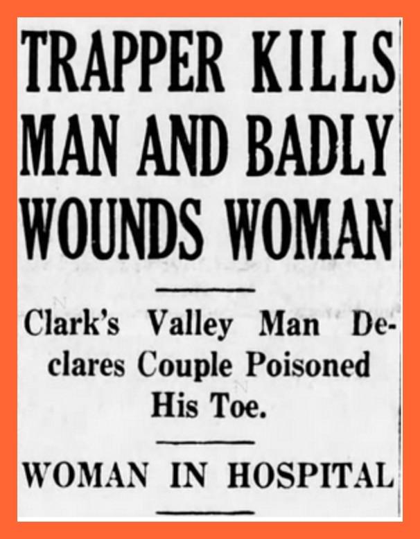 The Poison Toe Murder, 1937 (2) – Lykens Valley: History