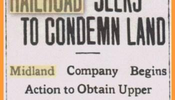 Midland Pennsylvania Railroad – Events of 1920 – Lykens