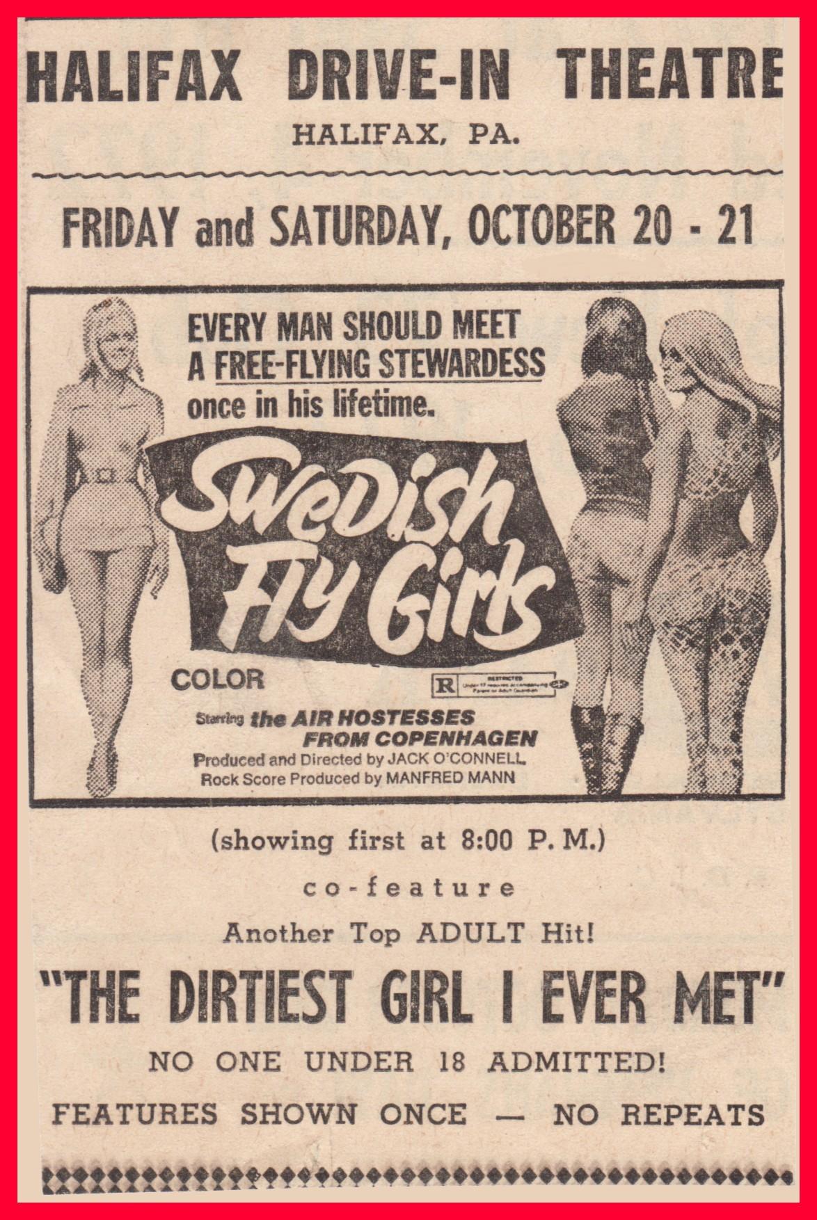 1972 Porn halifax – drive-in porn theatre, 1972 (1) – lykens valley
