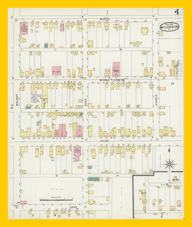 Millersburg – Sanborn Fire Insurance Map, April 1896 (4 of 4 ... on