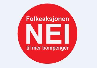 Logo/Folkeaksjonen NEI til mer bompenger.