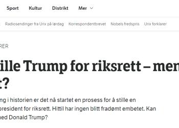 (Skjermbilde/NRK.no)