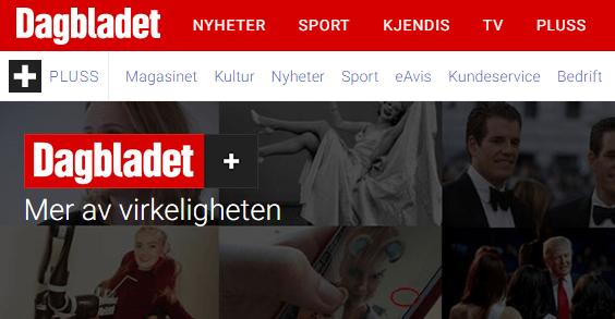 (Skjermbilde/Dagbladet pluss).