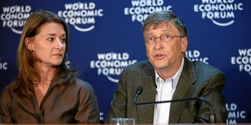 Melinda French Gates and Bill Gates / World Economic Forum / CC BY-SA 2.0