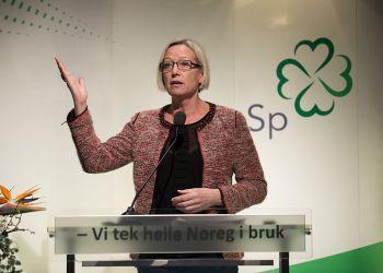 Marit Arnstad på Senterpartiets landsmøte i 2013 / Senterpartiet (Sp) /  (CC BY 2.0)