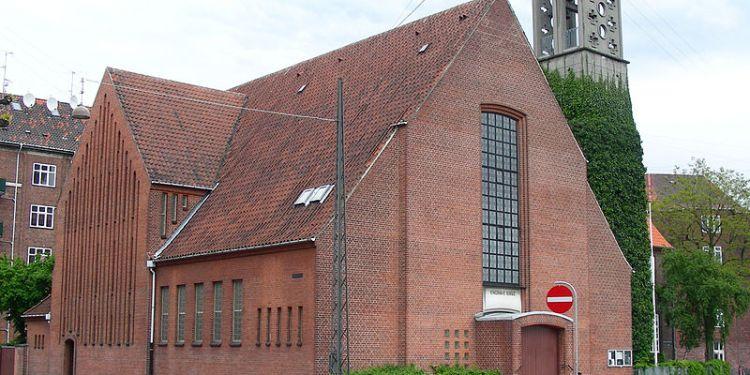 Enghave Kirke, København, Danmark. (Foto: Ib Rasmussen / Public Domain).