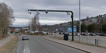 NY BOMVEI PÅ ROSENHOLMVEIEN I OSLO. (Foto: Google Streetview).