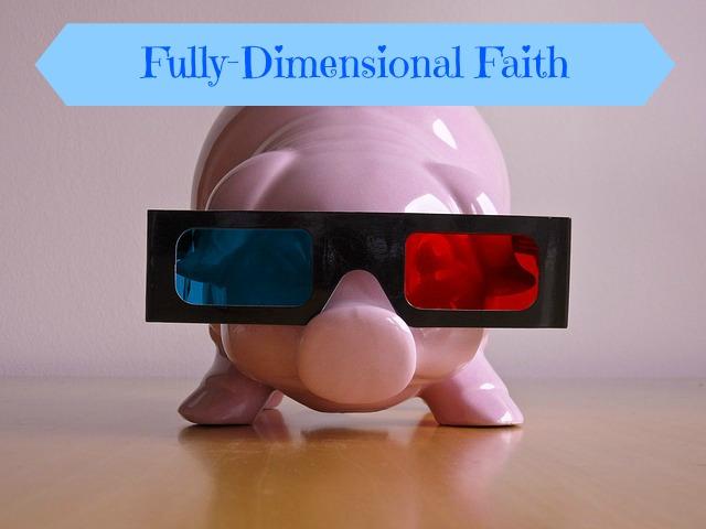 3-D Faith