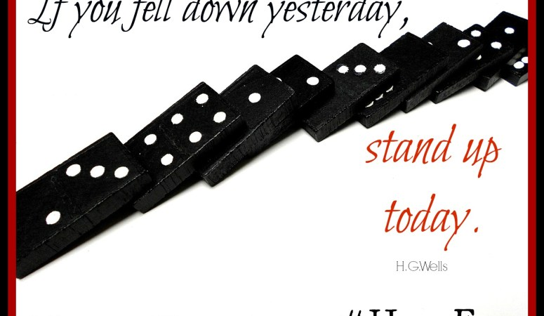 Hold Fast in Hard Times — Domino Effect (Day 30)