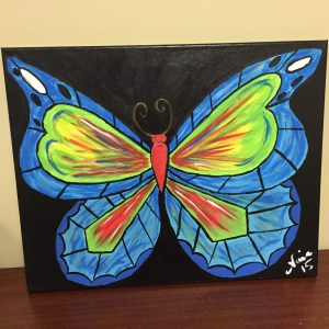 Nina's butterfly