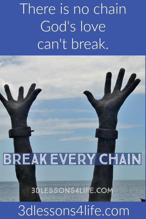 God's Love Sets Captives Free | 3dlessons4life.com