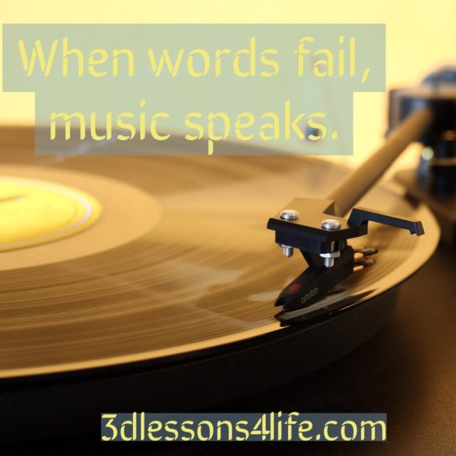 Music is My Muse   3dlessons4life.com