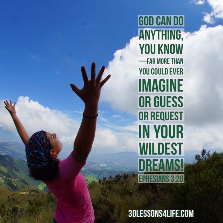 Pray Like a Wild Woman | 3dlessons4life.com