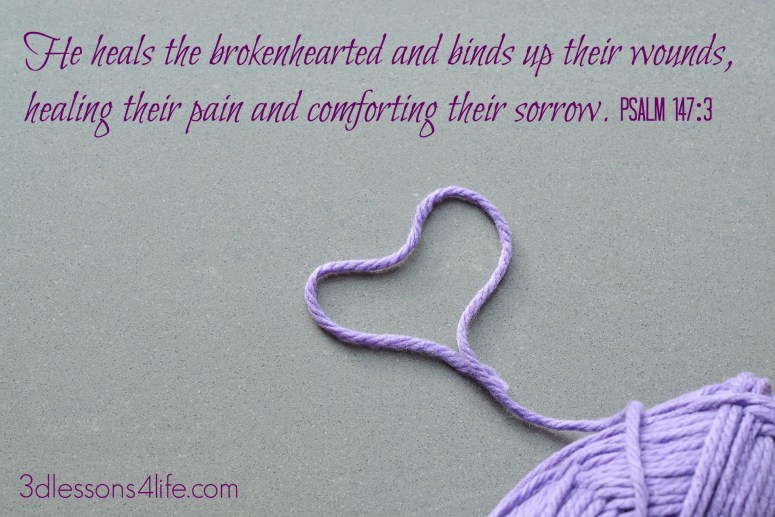 5 Remedies for Broken Hearts | 3dlessons4life.com