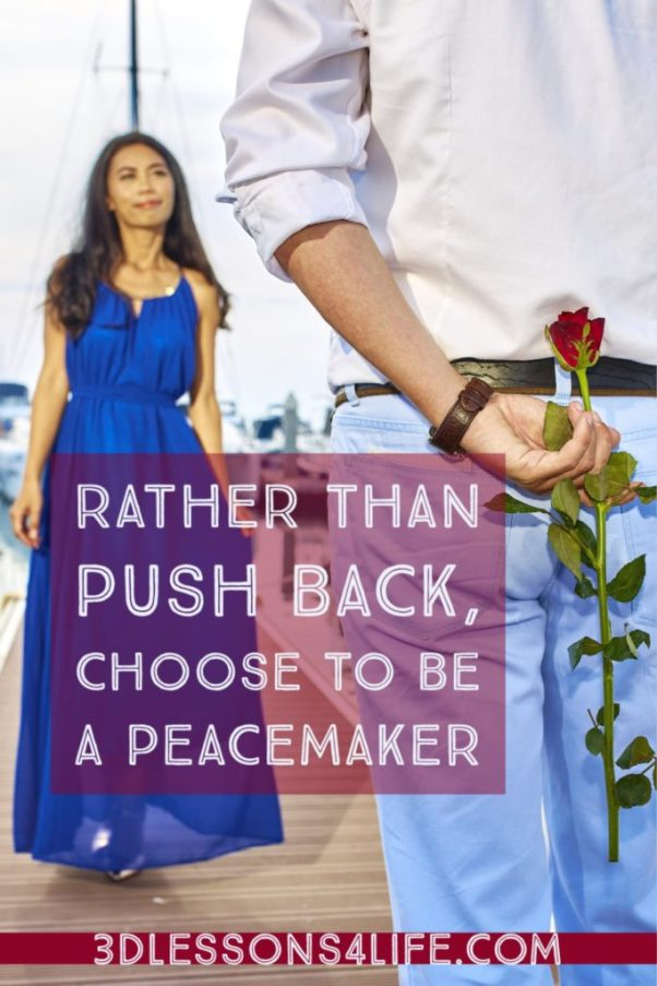 Choose to Be a Peacemaker | 3dlessons4life.com