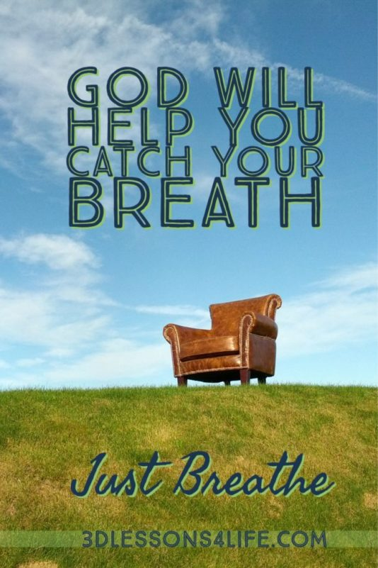 Catch Your Breath | Just Breathe for 31 Days - Day 1 | 3dlessosn4life.com