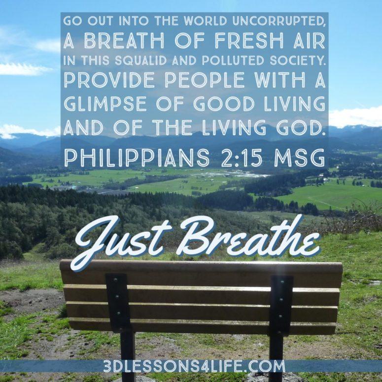 Fresh Air | 3dlessons4life.com