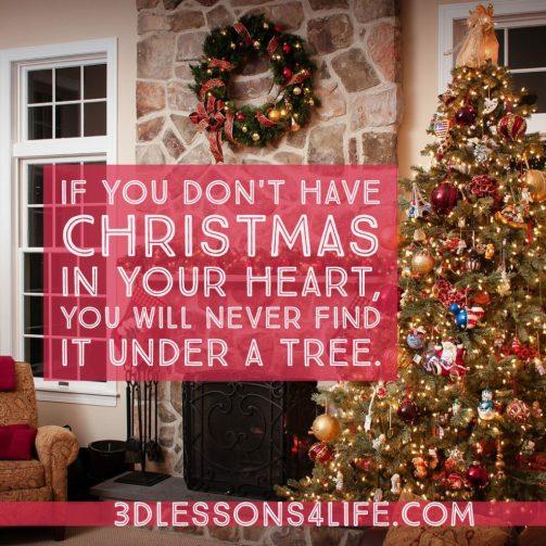 Christmas Heart | 3dlessons4life.com