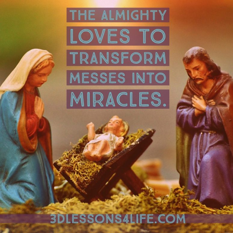 Messy Miracles | 3dlessons4life.com