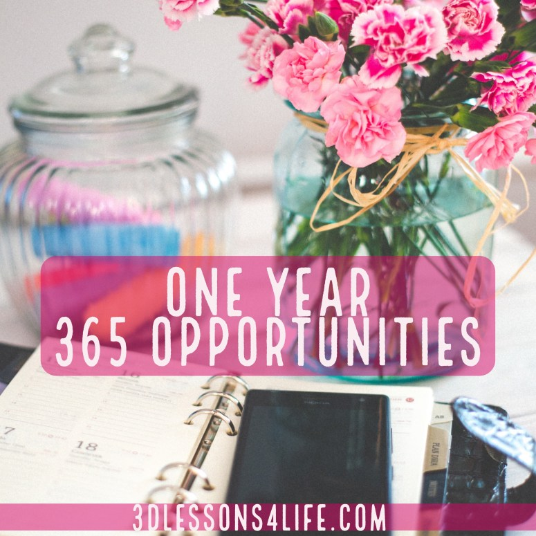 365 Opportunities | 3dlessons4life.com