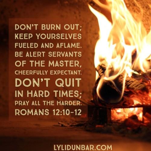 Romans 12:10-12 | LyliDunbar.com