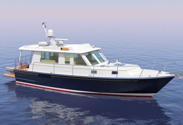 new yacht designs built