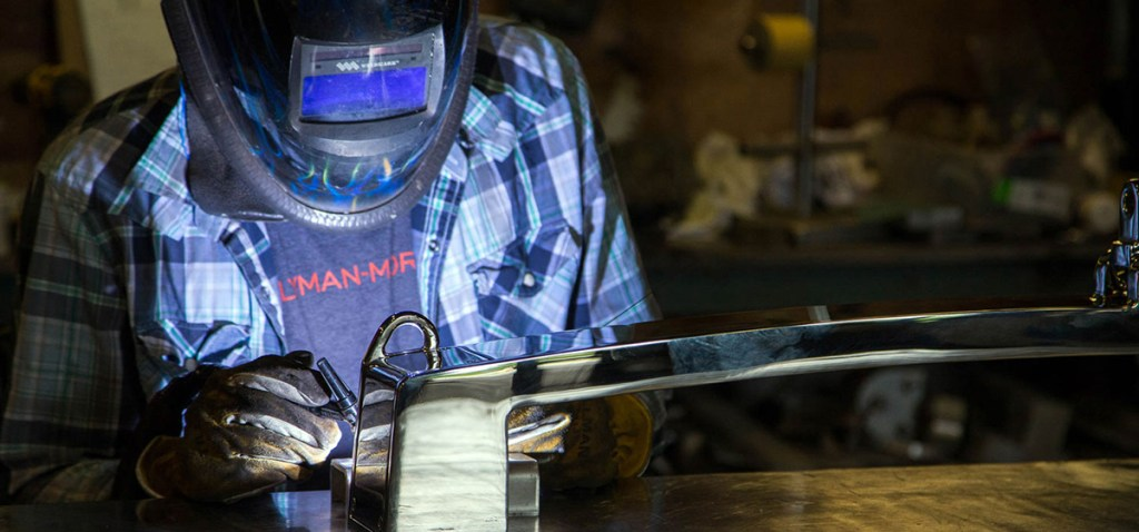 Stainless Steel craftsmanship at Lyman-Morse Fabrication