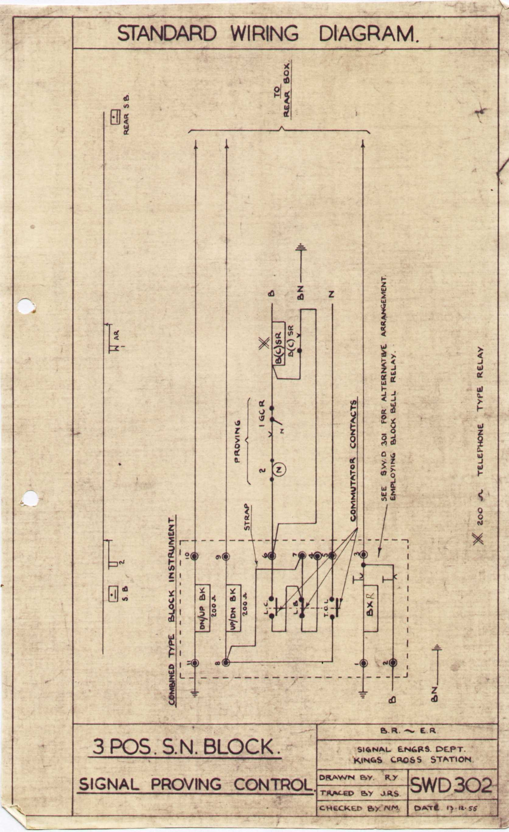instrument junction box wiring diagram bulldog security lner block instruments