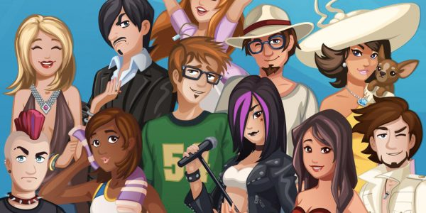 anime dating games online free no download