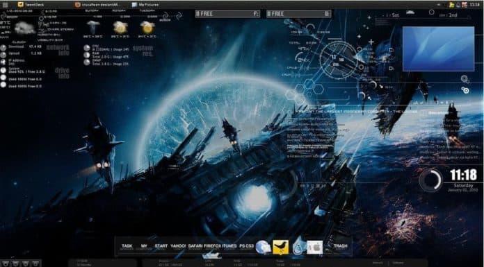 my-rainmeter-desktop