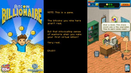 Bitcoin Billionaire game
