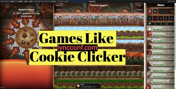 Games like Cookie Clicker