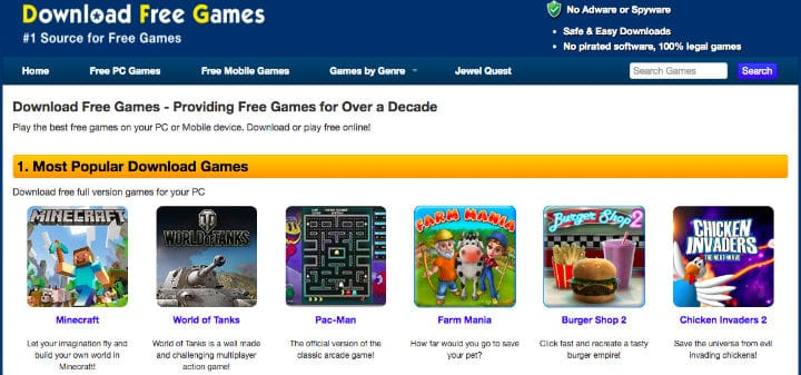 free games to play online without downloading