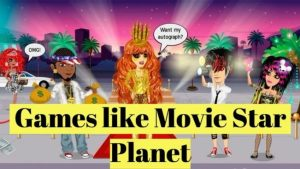 Games like Movie Star Planet