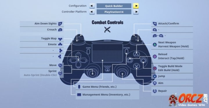 Quick Builder Combat Controls