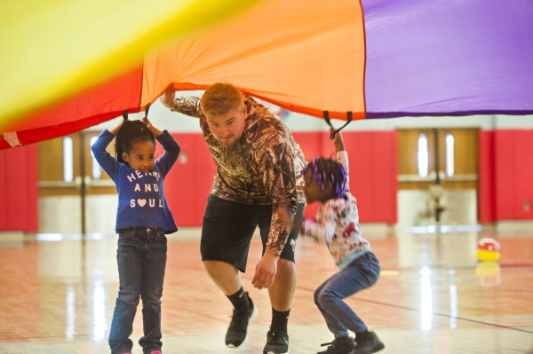 Physical Education Students Give Kids Head Start