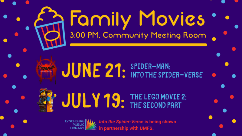 Lynchburg Public Library - The LEGO Movie 2: The Second Part