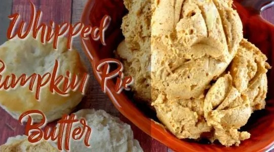 Whipped Pumpkin Pie Butter Recipe