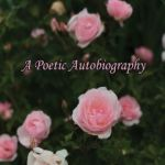 Book Cover is a dark background with pink roses in various stages from tight buds to fully open flowers.