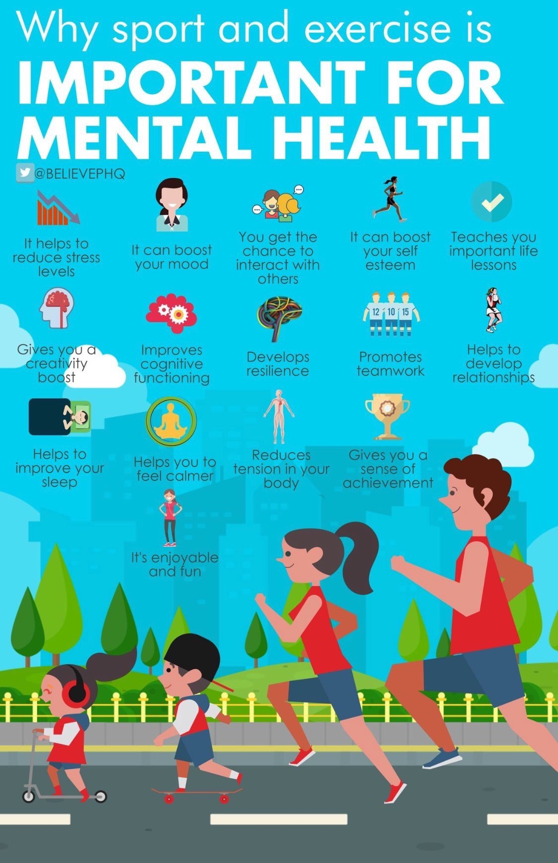 Why Sport And Exercise Is Important For Mental Health