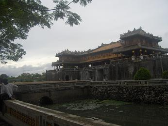 Forbidden Purple City in Hue, Vietnam